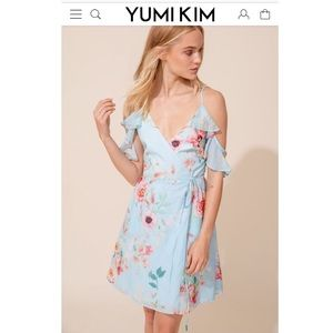 NWT Yumi Kim Lover's Leap Wrap Dress in Size M
